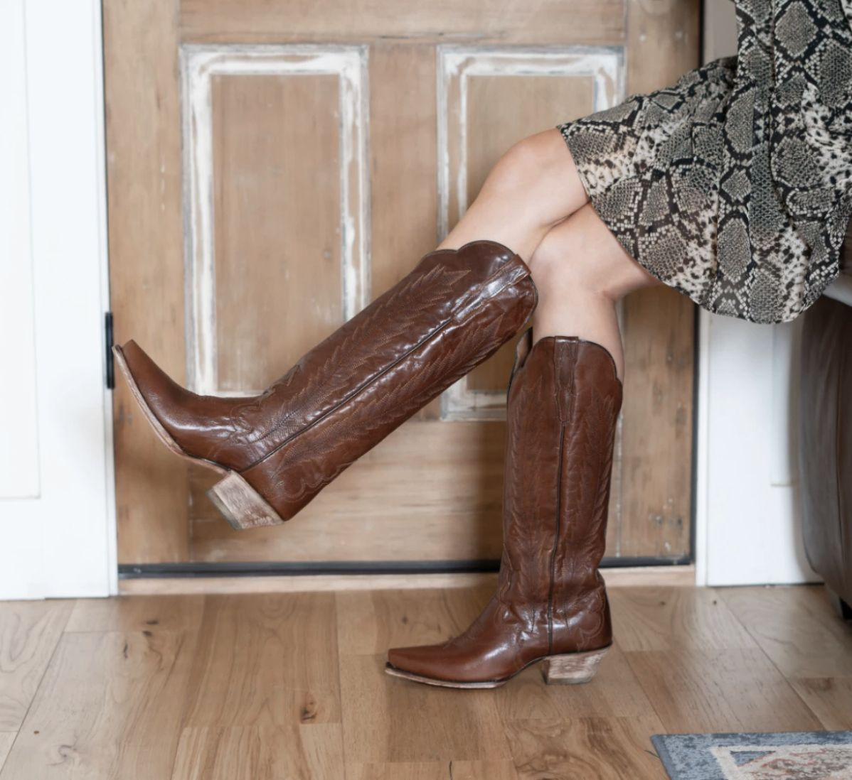 valeria leather boot