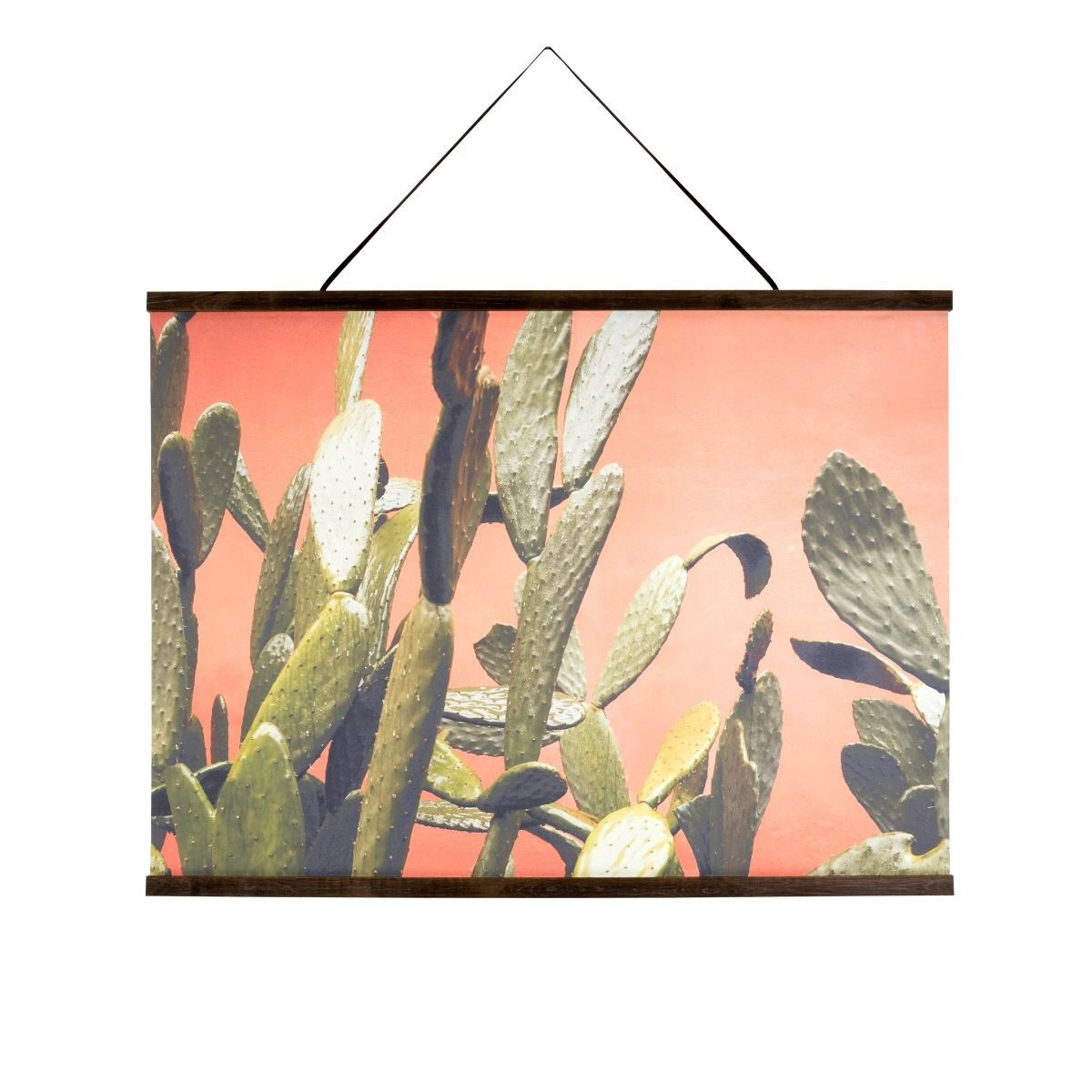 cactus bloom wall hanging