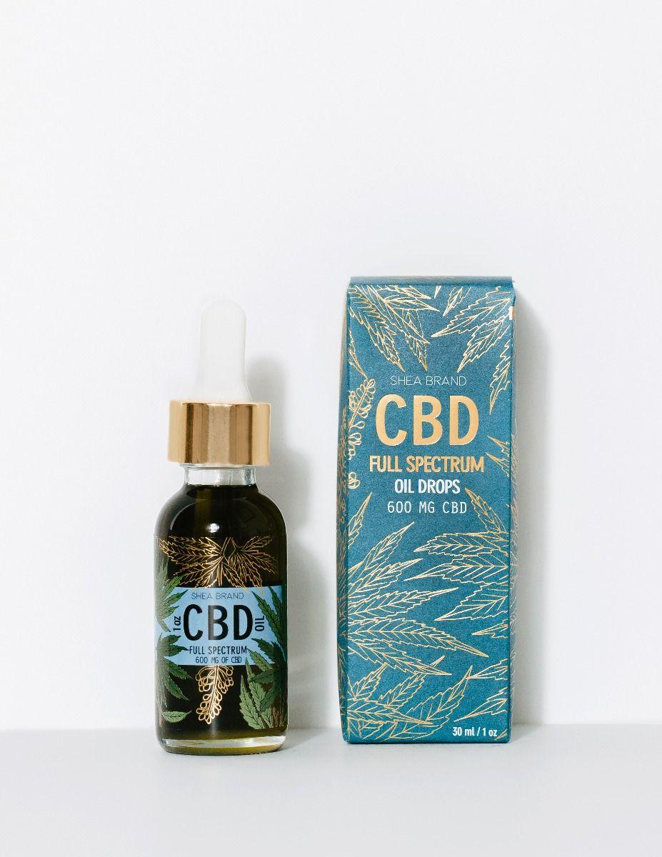 shea brand CBD full spectrum oil