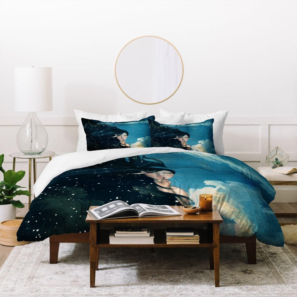 Belle Time For Sleep Cotton Duvet Cover & Pillow Shams