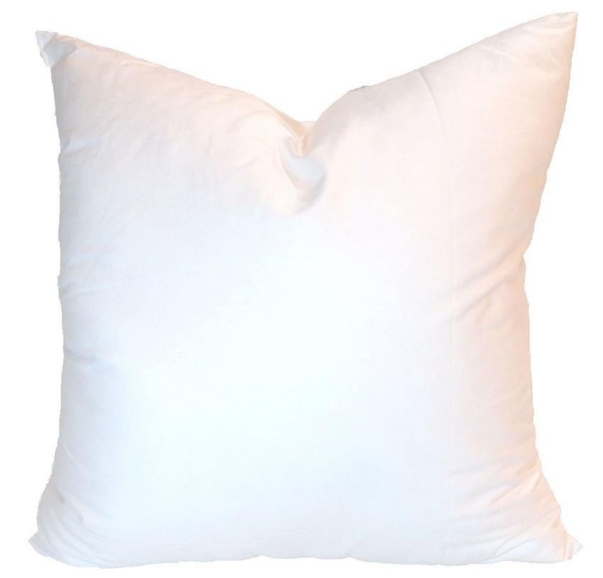 down pillow insert- euro