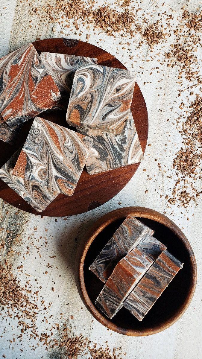 sandalwood vanilla bathhouse soap