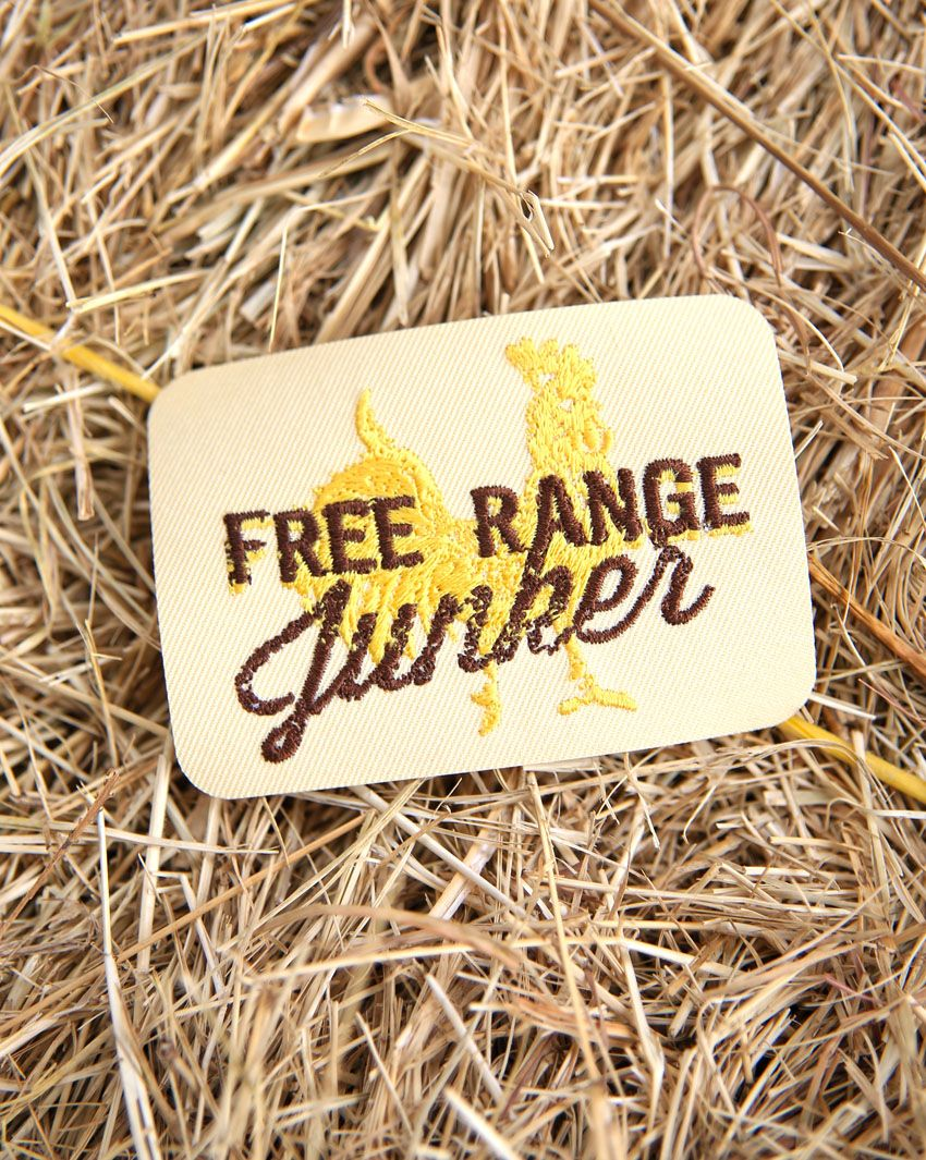 free range junker patch