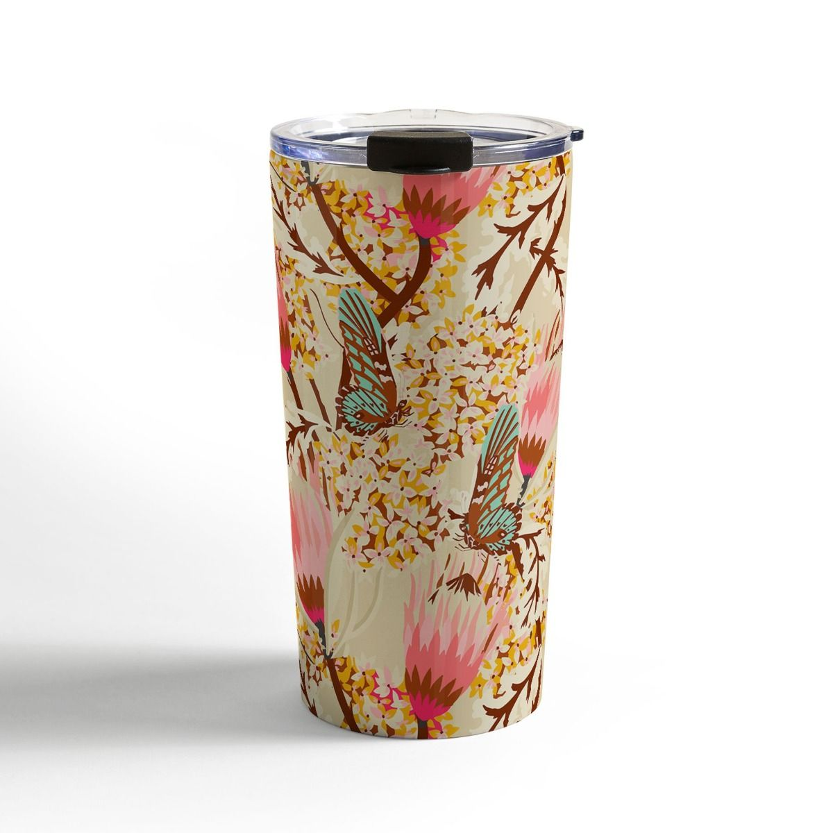 mademoiselle temple butterfly travel mug