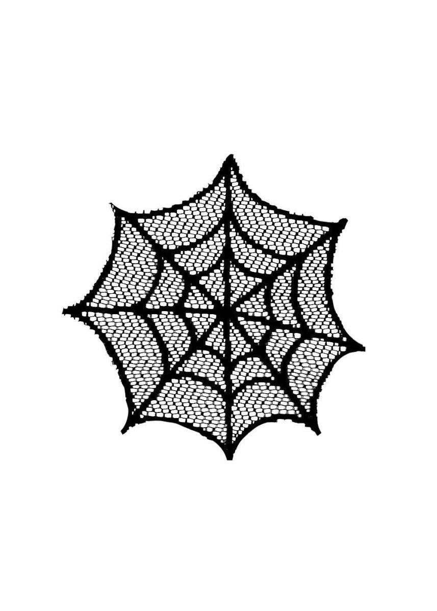 "Spider Web Doily 6"""