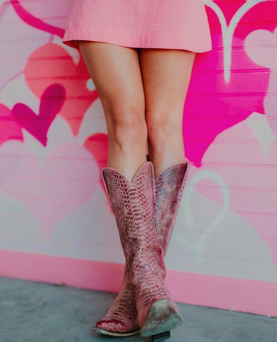 the desert highway boot - blush pink