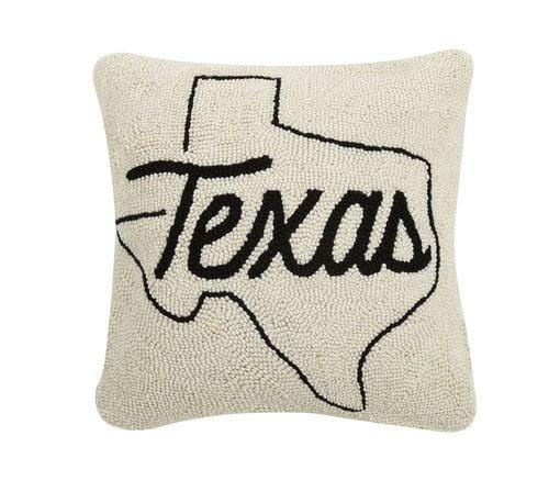 texas hook pillow