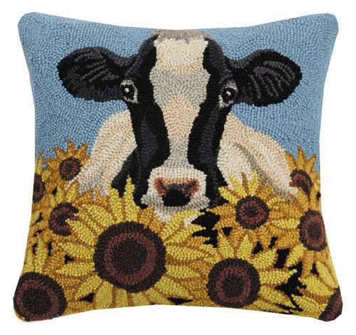 bovine beauty hook pillow