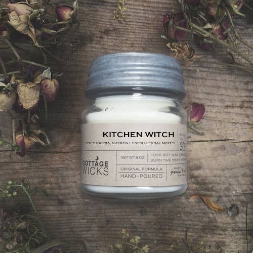 kitchen witch - 8 oz