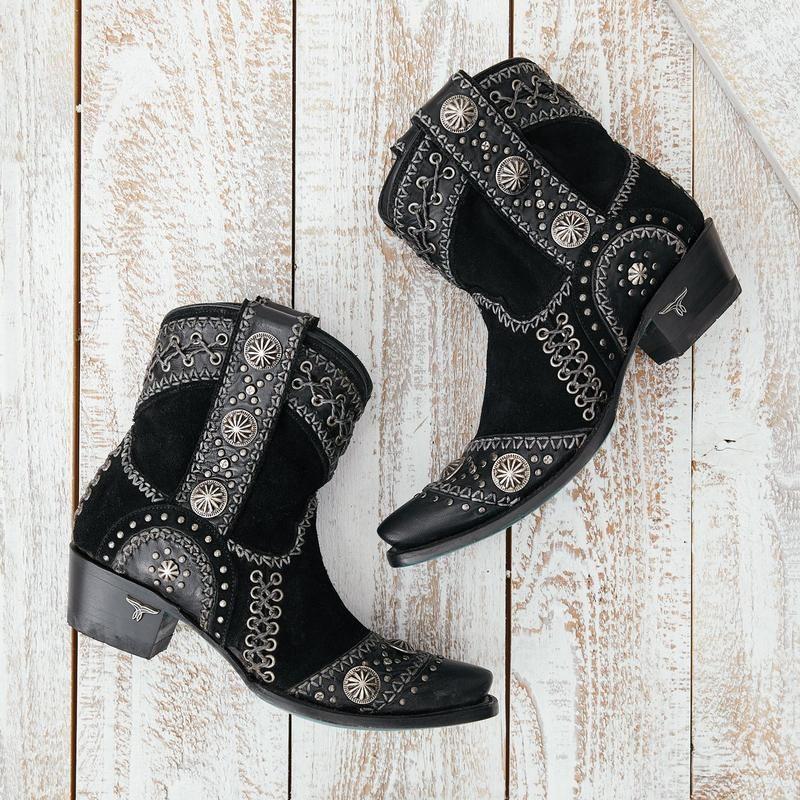 wind walker shortie boot - black