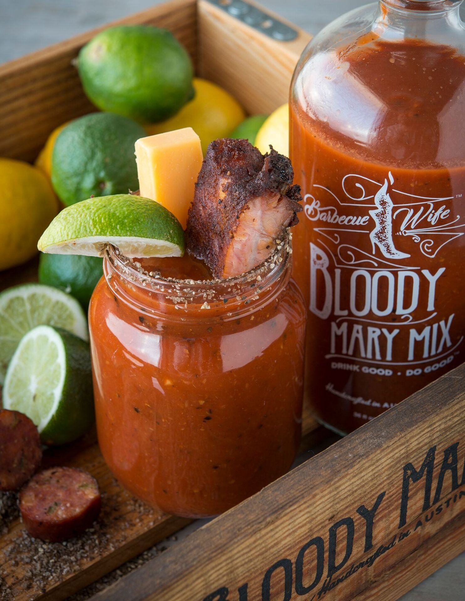 barbecue wife bloody mary mix