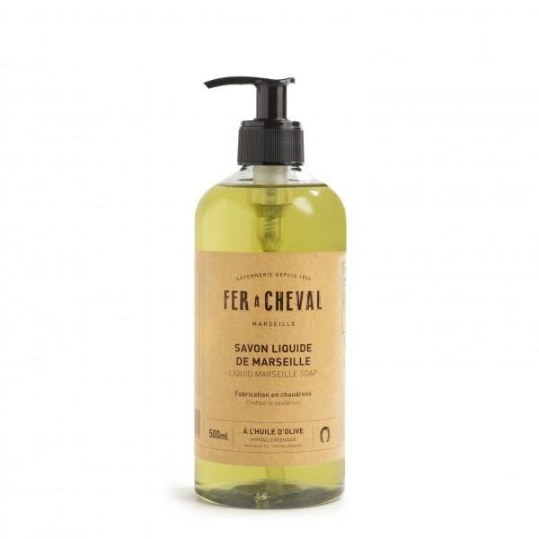 Fer à Cheval Genuine Marseille Liquid Soap Olive Oil - 500ml