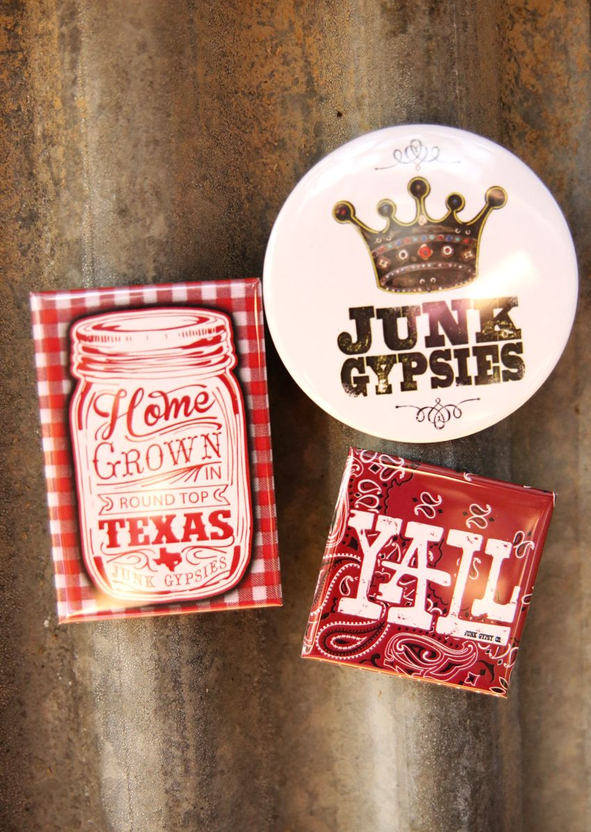 junk gypsies circle magnet