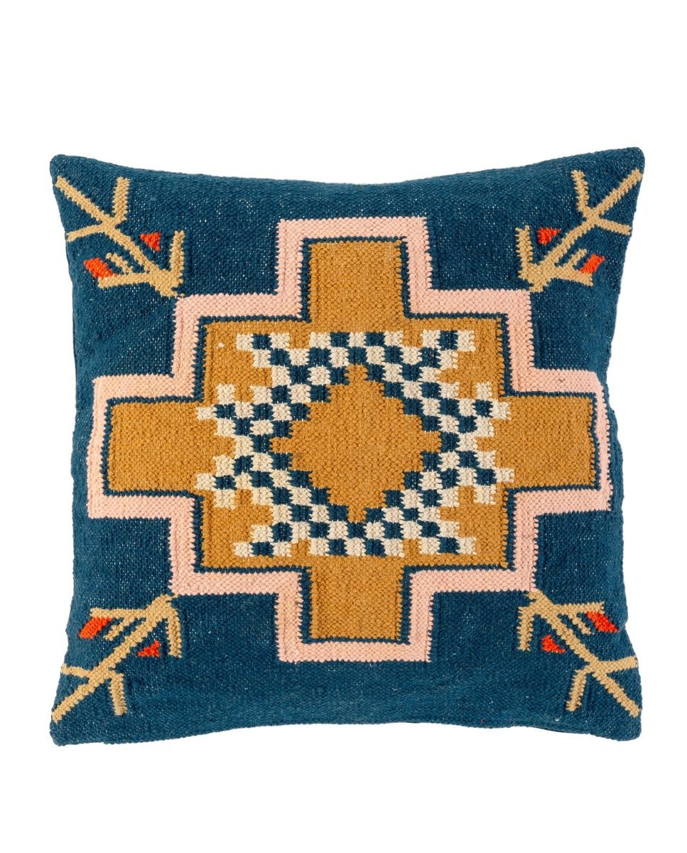 desert nights handwoven pillow - 24 X 24