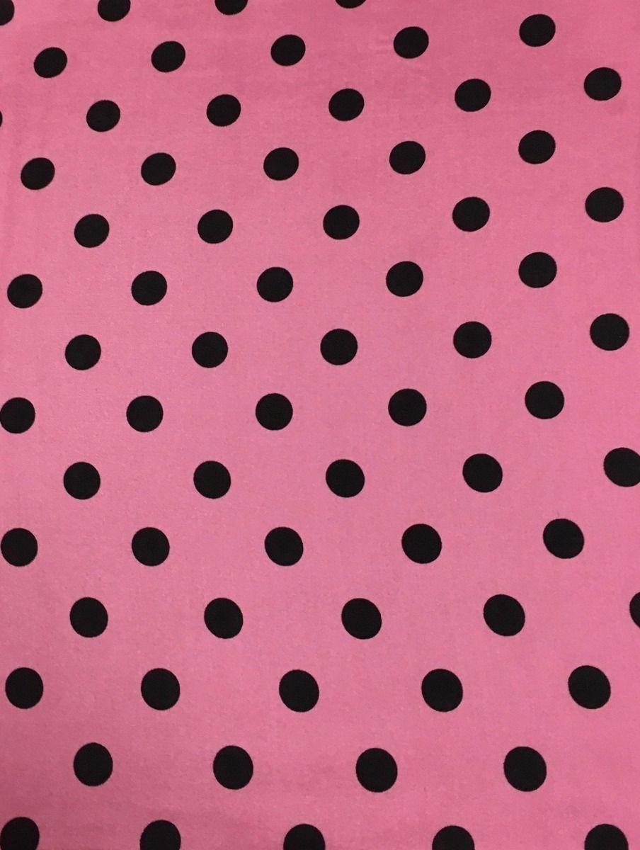 cowboy polka dot pink wild rag