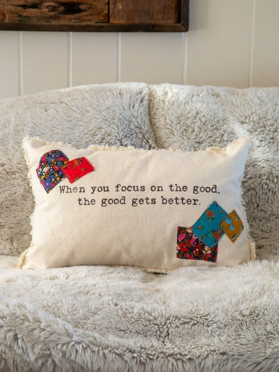 focus on the good pillow
