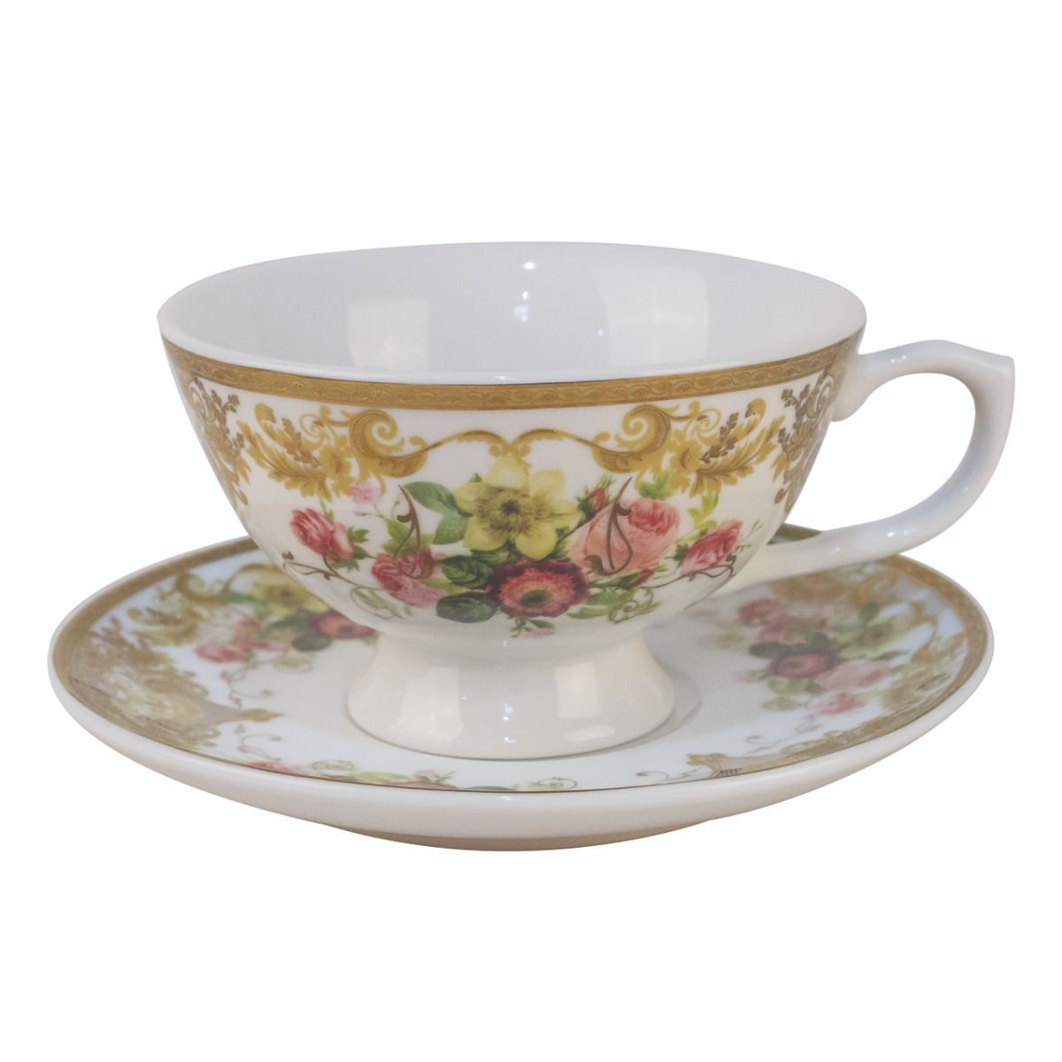 """Pretty Poison teacup - """"you have been poisoned"""""""