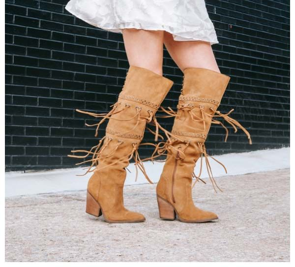 dingo witchy woman fringe boot -- available in multiple colors!