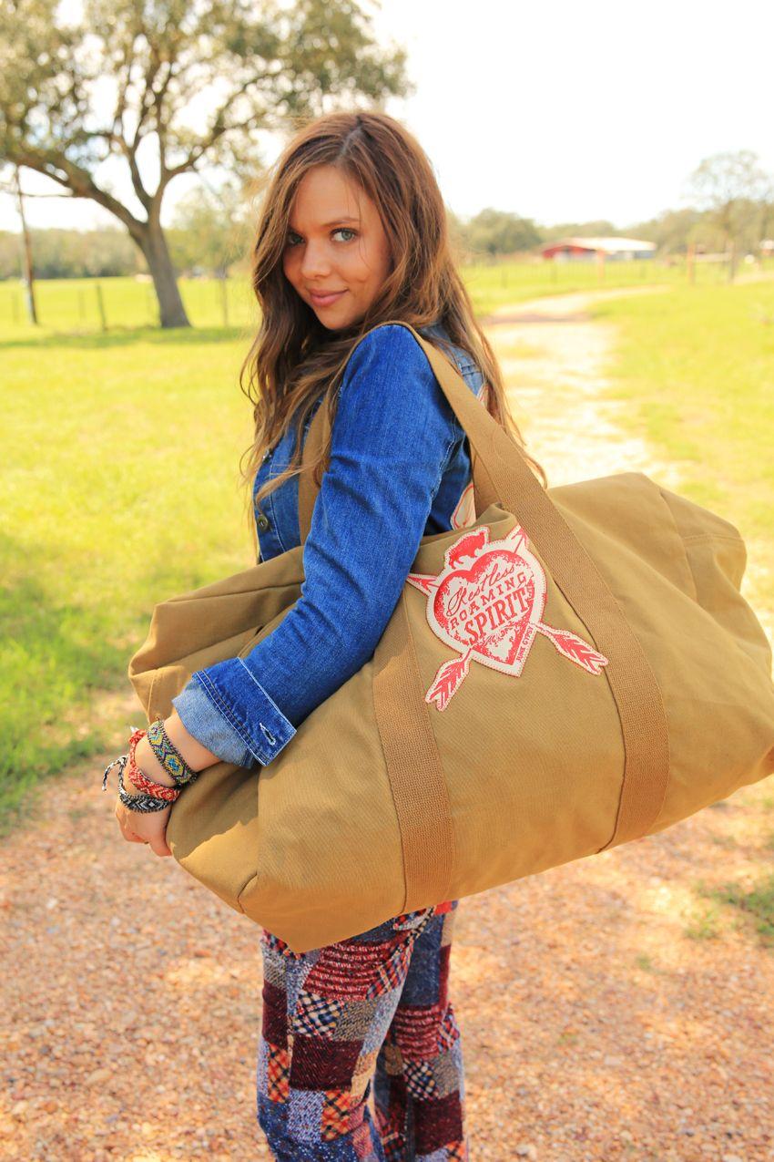 restless roaming spirit oversized rucksack duffle-coyote brown