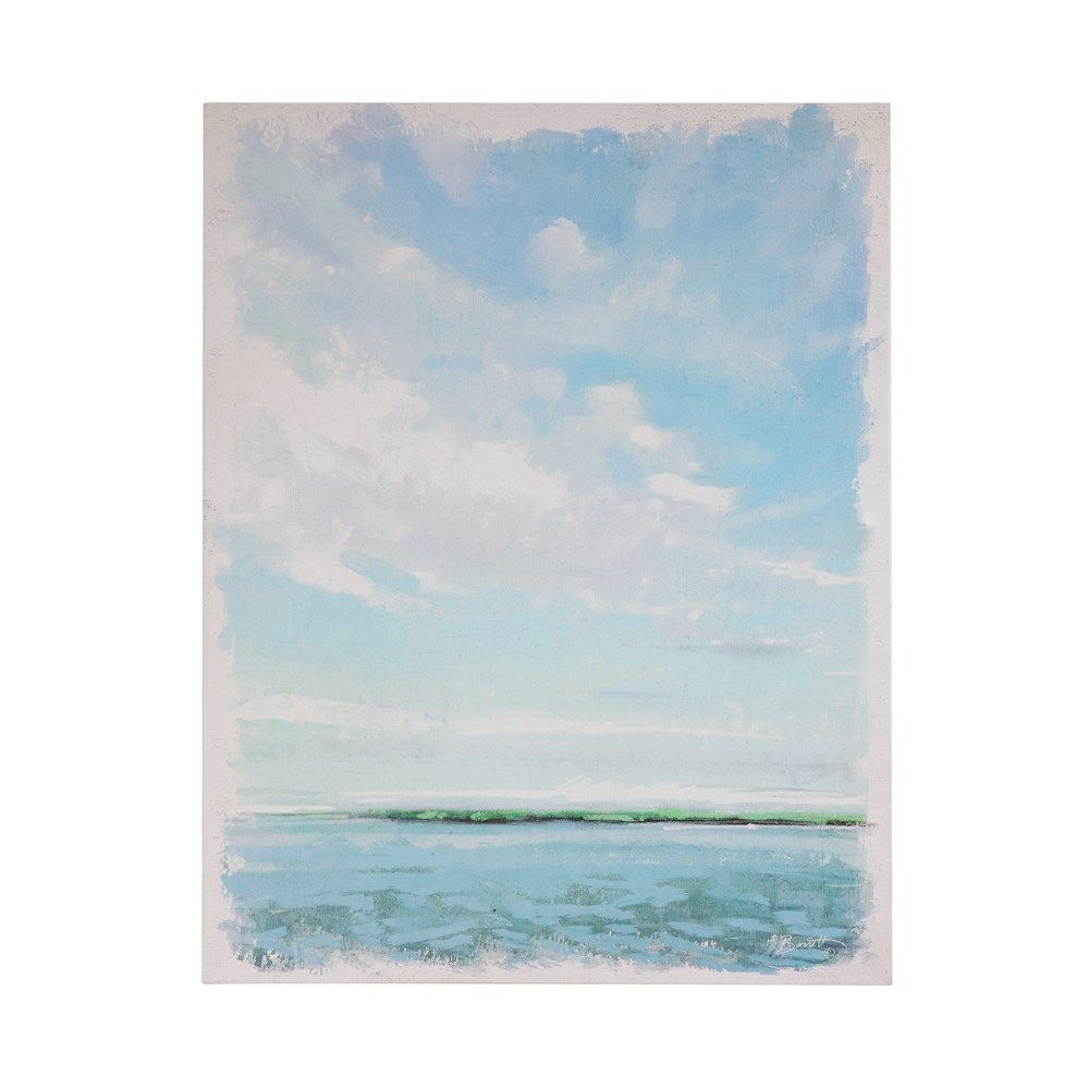 shoreline wall canvas
