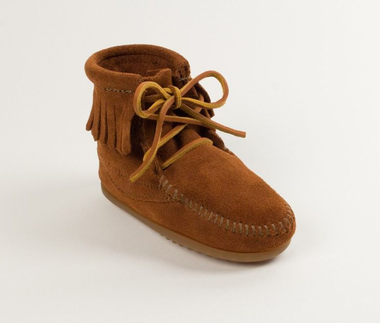kids tramper brown mocs