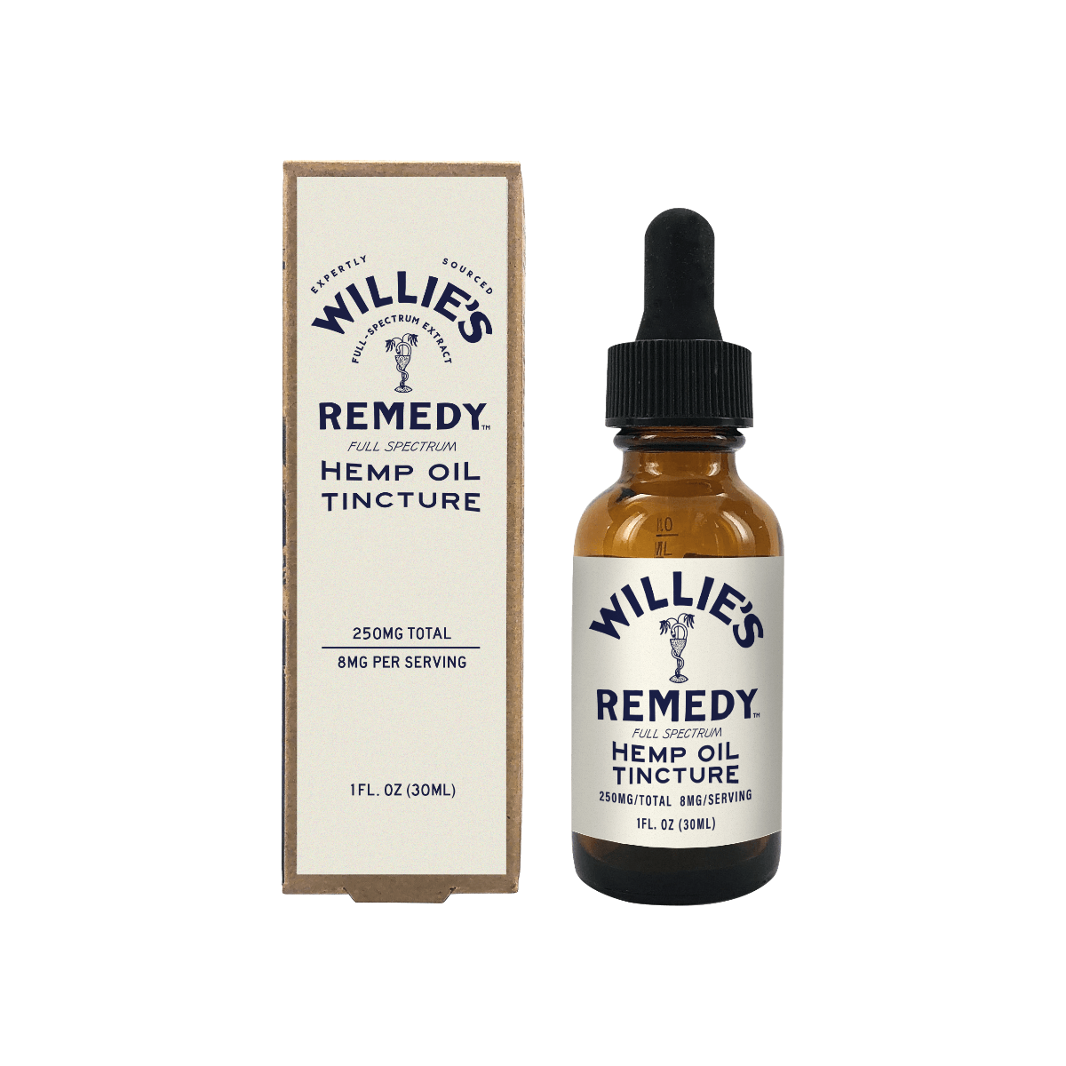Willie's Remedy Full Spectrum Hemp Oil Tincture