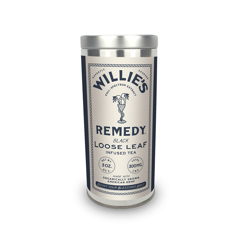 Willie's Remedy Black Tea - 3 oz Tin