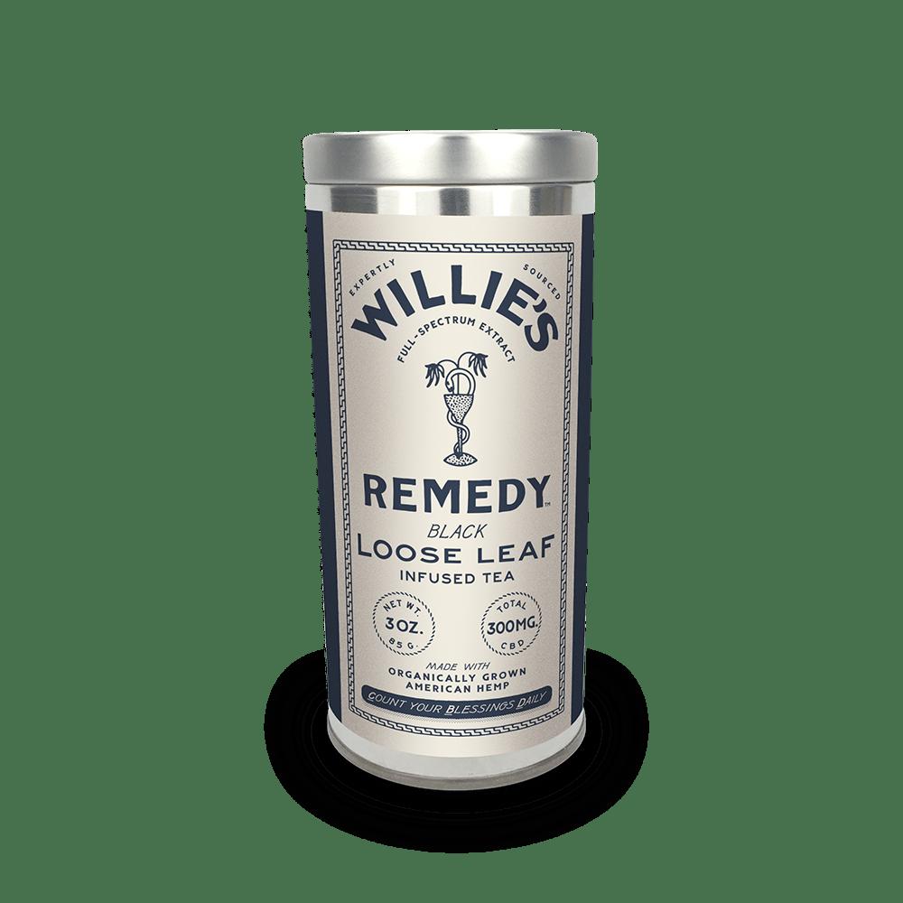 Willie's Remedy Black Tea - 3 oz Tin