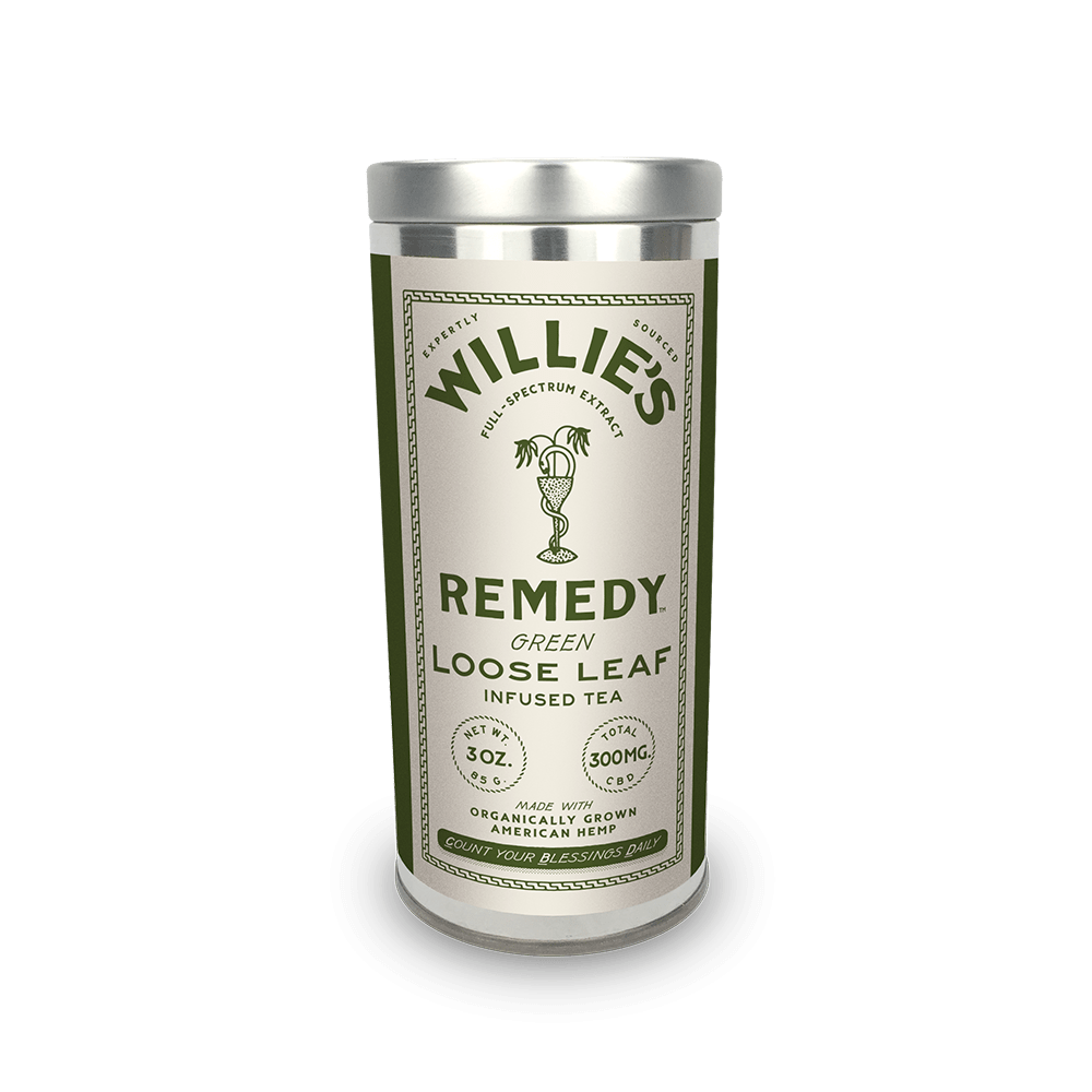 Willie's Remedy Green Tea - 3 oz tin