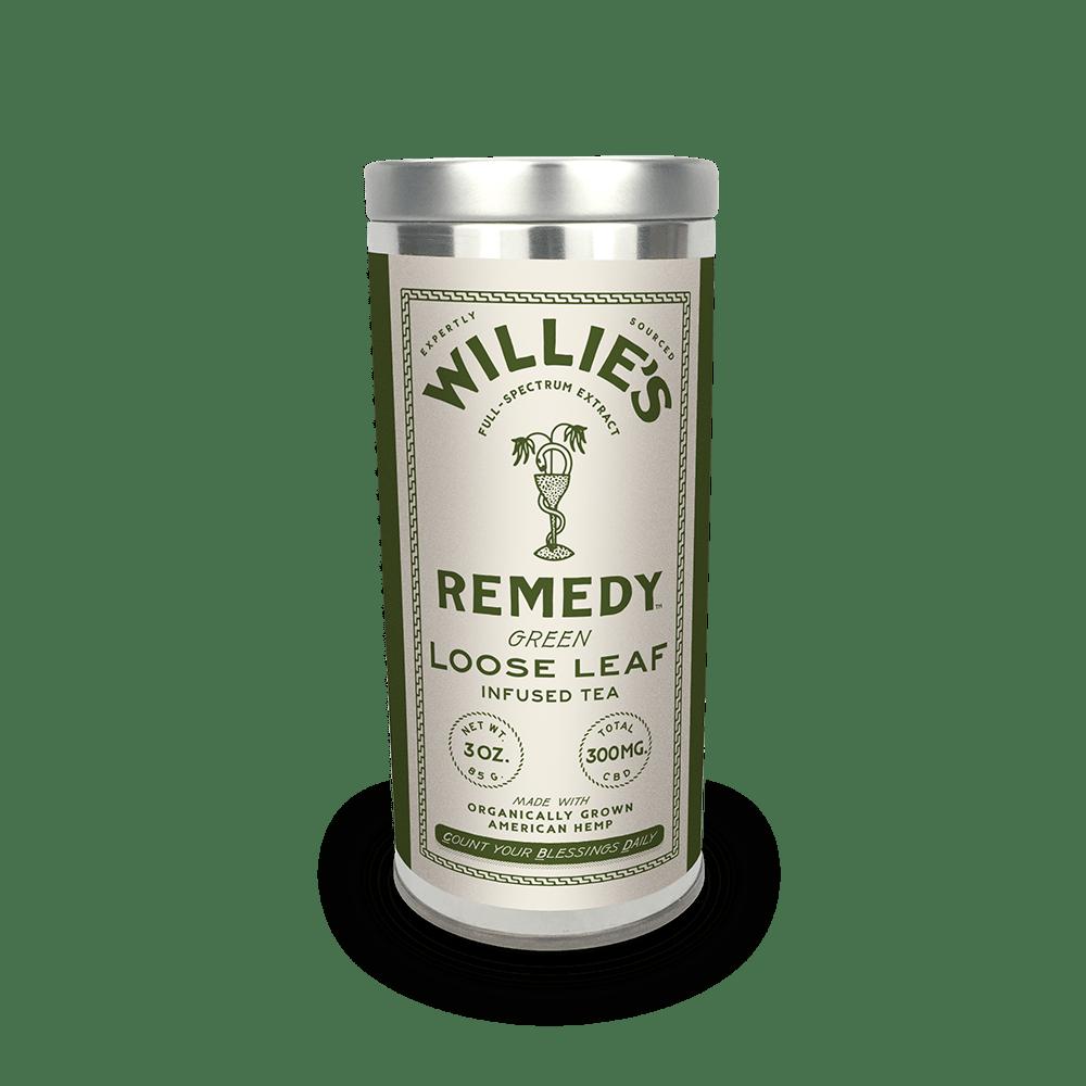 Willie's Remedy Green Tea - 3 oz tin