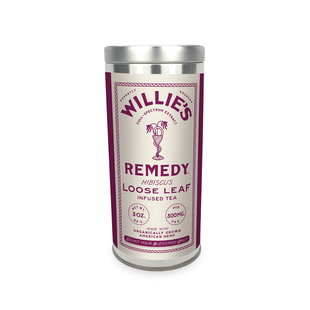 Willie's Remedy Hibiscus Tea - 3 oz Tin