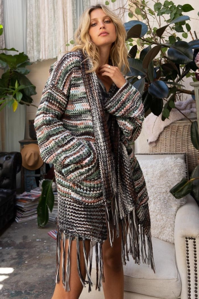 calliope knit cardigan