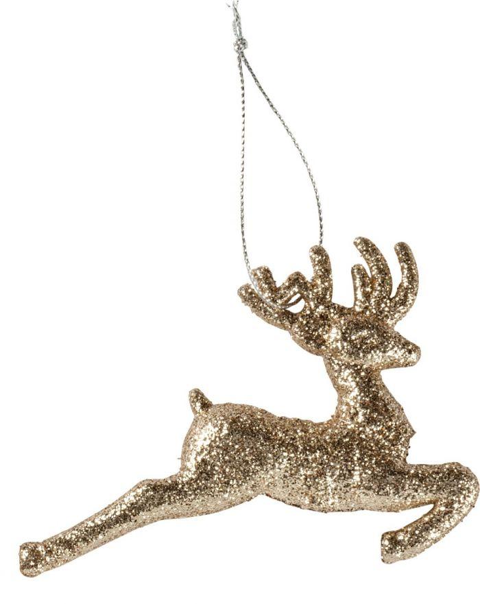running deer ornament
