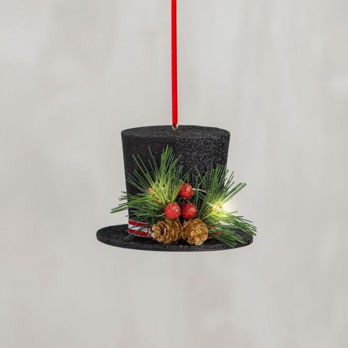 top hat ornament