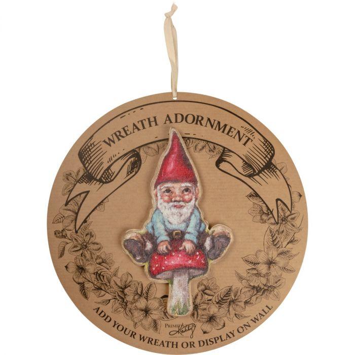 gnome wreath insert