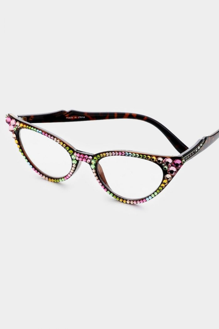 crystal reading glasses -- different color options!