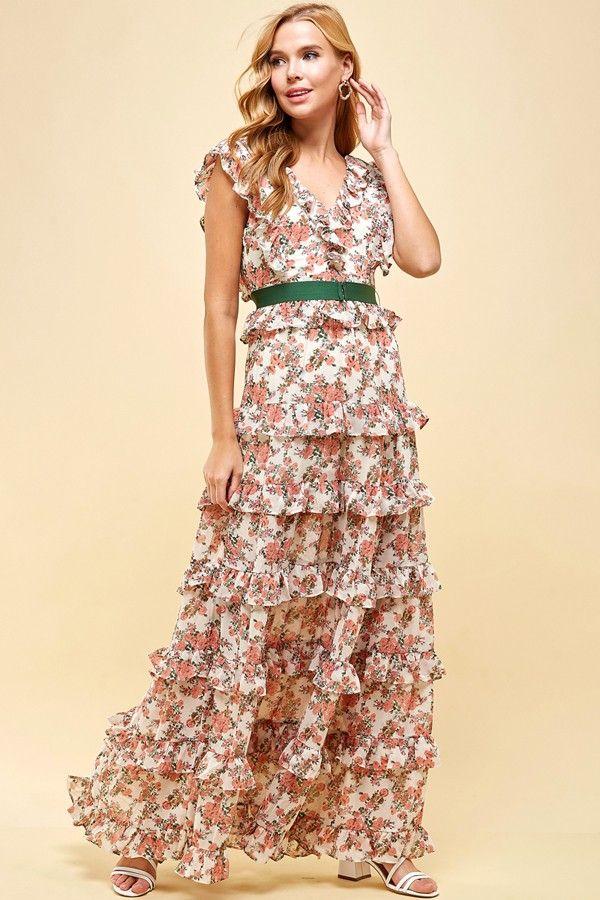 the dorothea floral maxi dress