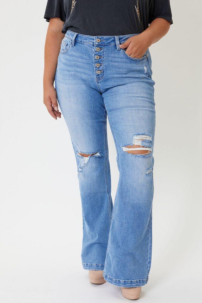 Kancan Billie Plus Size Skinny Jeans
