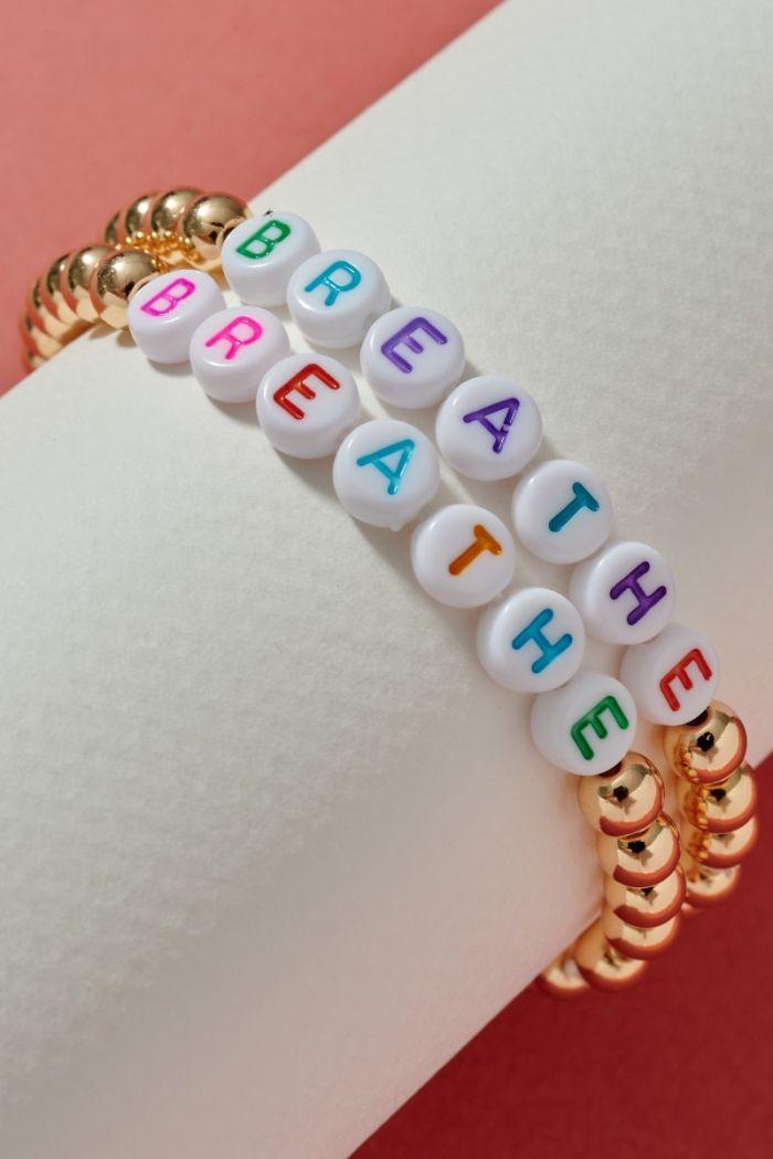 stretch inspirational bracelet