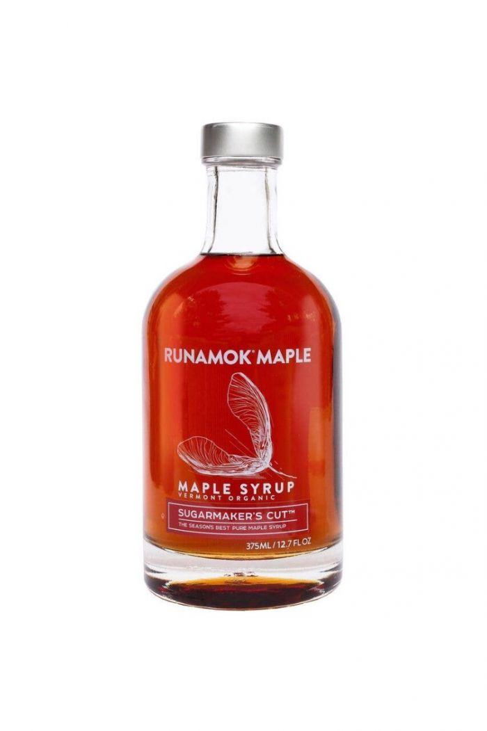 sugarmakers cut maple syrup