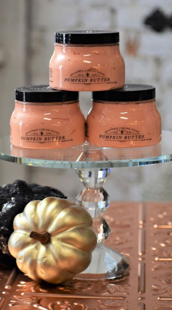 Pumpkin Butter Whipped Soap
