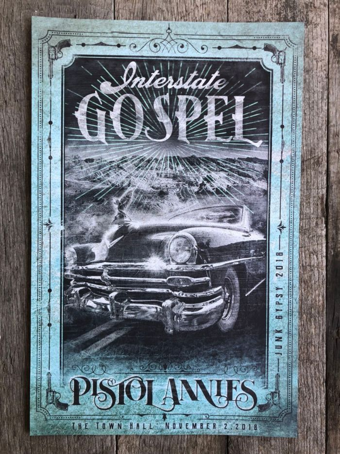 interstate gospel concert poster- mint