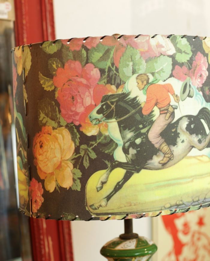 rodeo roses lamp shade