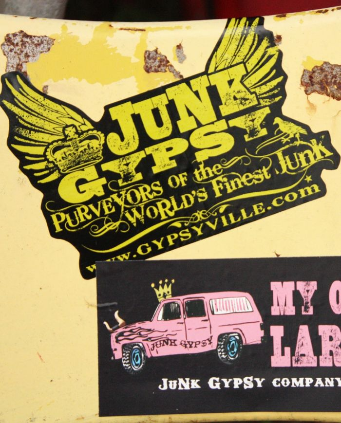 jg wings bumper sticker