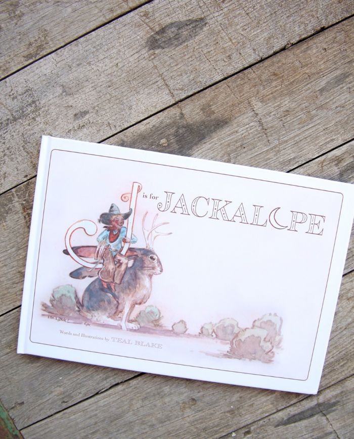 j is for jackalope children's book