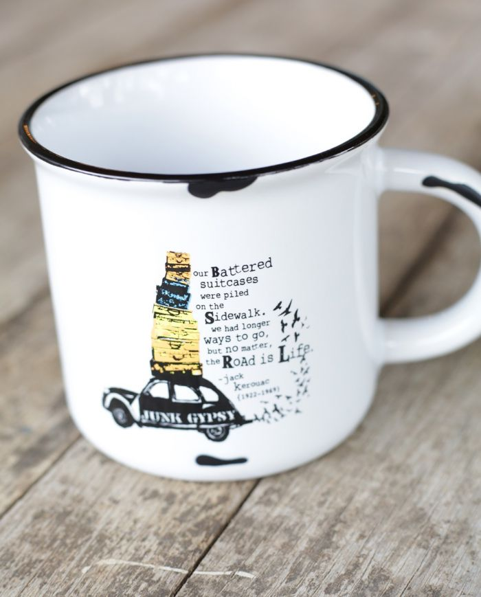 road is life mug