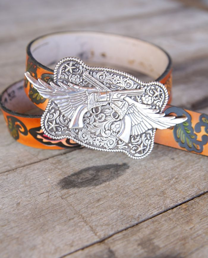 guns n' wings buckle-miranda lambert collection