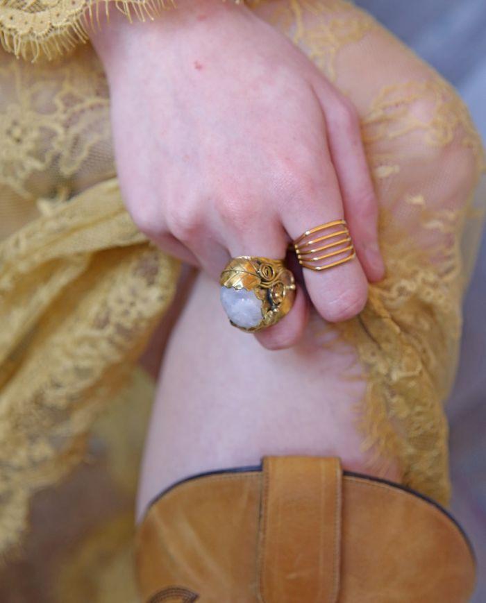 tina gold ring