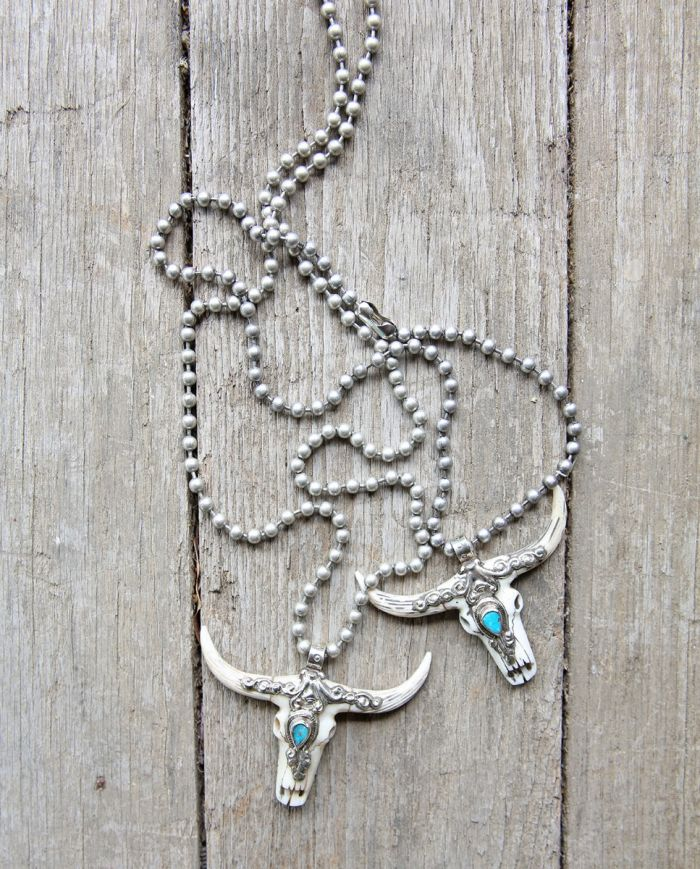 back at the ranch turquoise necklace