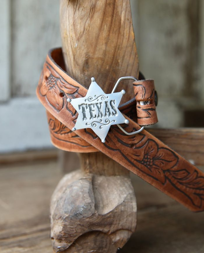 TExAS SheRiFF buckle - kids